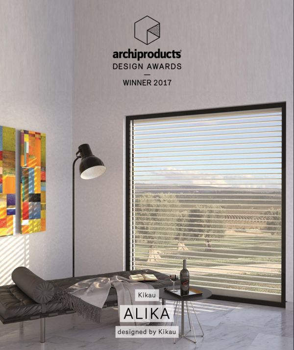 ALIKA: la tapparella orientabile KIKAU riceve il premio Archiproducts Design Awards 2017
