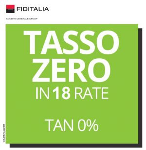 18 RATE TASSO ZERO